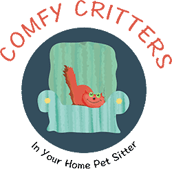 Comfy Critters In Your Home Pet Sitter
